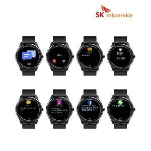 SK VOLT 스마트워치 스포츠 방수 심박 SSW-01 블랙