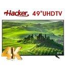 해커UHD LED TV 123cm(49) 정품패널 무료배송 자가설치