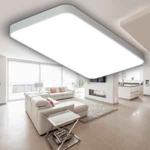 100%국산플리커프리 LED거실 시스템화이트 거실2등50w