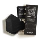 kf94 마스크 블랙 대형 100매 + 스트랩 1개 합리적인