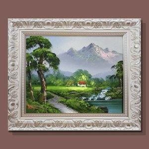 번영의 소나무그림 돈들어오는그림 풍수그림 3호/고급