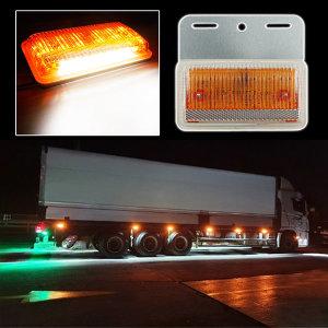 24V 3way LED 차폭등 황색/사이드램프/화물차용품