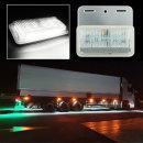 24V 3way LED 차폭등 백색/사이드램프/화물차용품