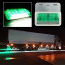 24V 3way LED 차폭등 녹색/사이드램프/화물차용품