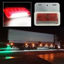 24V 3way LED 차폭등 적색/사이드램프/화물차용품