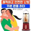 (HV-2004T) 따뜻한 원통 전기 난로 /겨울난방용품