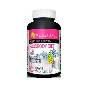 굿바디 다이어트 CLA 112캡슐(8주분) 공액리놀렌산
