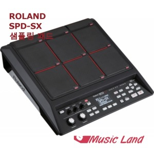 뮤직랜드 ROLAND SPD-SX SPDSX 전자 드럼 패드 샘플링