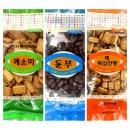 옛날과자 3종 건빵/깨소미/동부 6봉
