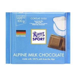 리터 스포트 알파인 밀크 초콜릿 100g
