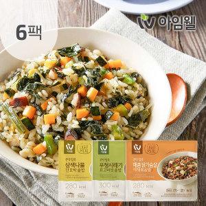 닭가슴살 곤약볶음밥200g 4종 6팩 삼색/무청/매콤야채