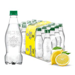 (본사직영) 씨그램 라벨프리 레몬 450ml X20PET