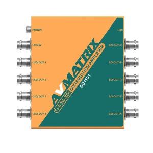 Avmatrix SD1191 /1X9 SDI 분배기/DISTRIBUTION