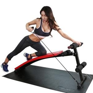 싯업보드 일체형 복근 운동 기구 윗몸일으키기 블랙