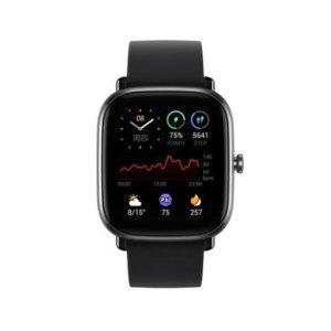어메이즈핏 스마트워치 GTS2 Mini 공식수입 한글 블랙