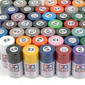 스프레이 캔 페인트 컬러 프라모델 건담 색칠 도색