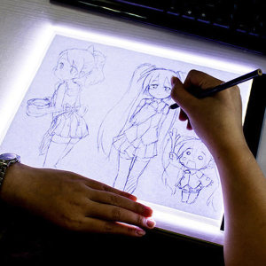 LED 스케치 헬퍼 만화캐릭터 그림그리기 팬드로잉