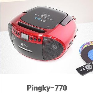 블루투스 MP3CD 포터블카세트 핑키-770 USB재생 FM AM