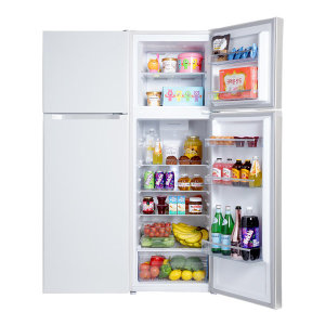 일반냉장고 251L 슬림 2도어 예쁜 소형 냉장고 White