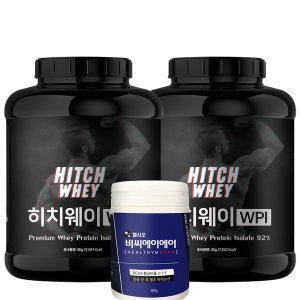 헬시오 히치웨이 WPI 1+1 단백질보충제 헬스보충제