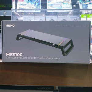 ABKO RGB 모니터스탠드 MES100 블랙 /T