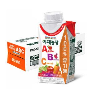 100%유기농 야채농장 ABC주스 200mlx36팩 /실온보관