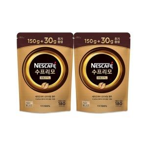 수프리모 리필파우치 150g+30g x 2봉/커피믹스