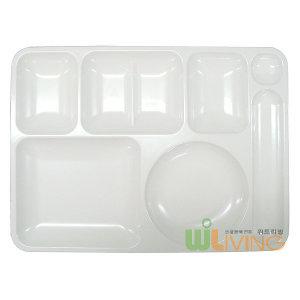 P.C항균식판2호 (1세트25개)/급식용식판/식당용식판
