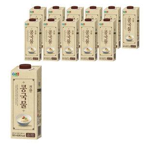 정식품 진한 콩국물 950ml x 12팩