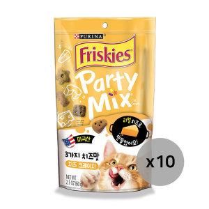 프리스키 파티믹스 치즈크레이지 고양이간식60g x10개