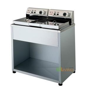 전기튀김기DS200 도장2구형/대형튀김기/업소용튀김기