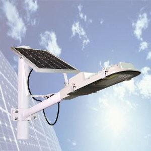 태양광 12W 60LED 부착형 가로등 정원등 투광등