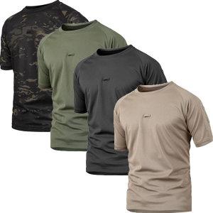 반팔 밀리터리 티셔츠 등산 캠핑 아웃도어 군인 작업