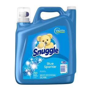 Snuggle 울트라 고농축 섬유유연제 블루 스파클 210 회 분량 4.96 L 빠른직구