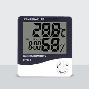 큰화면 디지털 온도 습도계 다용도 시계