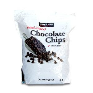 간식의 왕 베이커리용 초콜릿칩스 2.04Kg