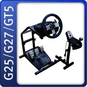 로지텍 G29 G27 G25 GT5 T300 T500 레이싱휠거치대 C
