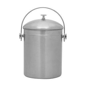 스테인레스 대용량 음식물 쓰레기통 다용도 버킷 5L