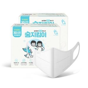 숨지킴이 새부리형/국산/일회용마스크 스몰화이트100매