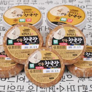 청국장 160g 5개(비닐포장) 전통식품인증 수제 청국장