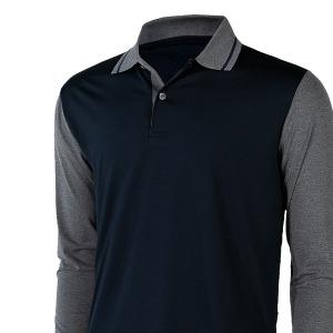 카라벤 배색 카라티셔츠 남자 봄 가을 등산복 작업복