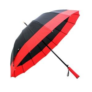 투톤 멜빵 자동 장우산 무료배송