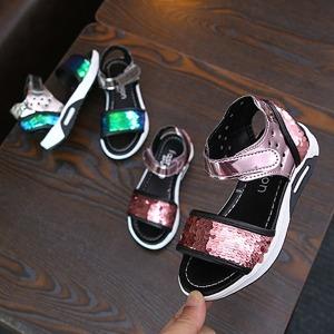 여아 여름 샌들 신발 키즈 아동 반짝이 유아 SZ-323