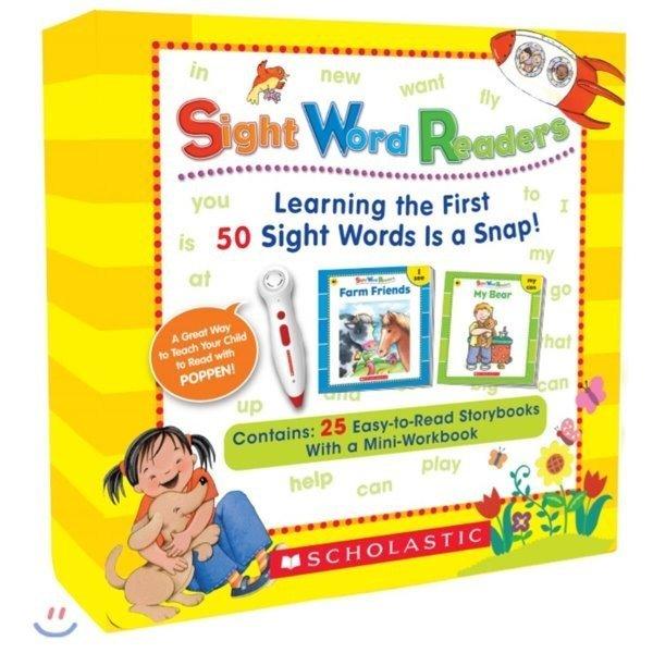 스콜라스틱 사이트 워드 리더스 (CD  워크북 포함   팝펜 에디션) Scholastic Sight Word Readers Boo...