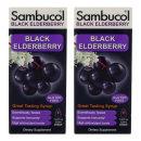 (아이허브) 2개X Sambucol 블랙 엘더베리 시럽 오리지널 포뮬러 230ml 빠른직구