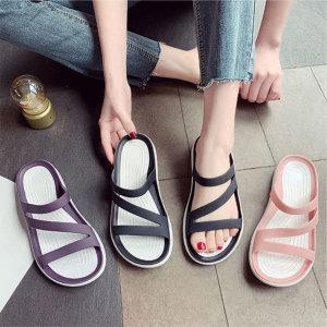 젤리슬리퍼 샌들 슬리퍼 아쿠아 여성 여름 신발