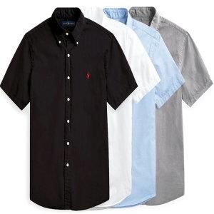 정품 폴로 남성 옥스포드 반팔 셔츠 한정수량 세일