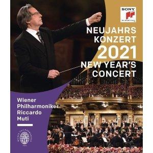Riccardo Muti 2021 빈 신년음악회 - 리카르도 무티  빈필 (New Year s Concert 2021)  Blu-ray    Ri...