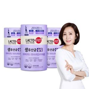 종근당건강 락토핏 체지방감소 생유산균 슬림 60포3통