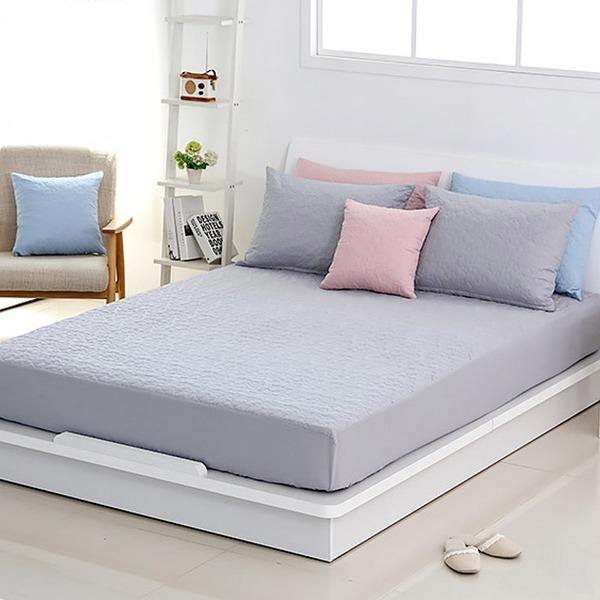 에코항균 누빔 매트리스커버 침대커버 방수커버 S